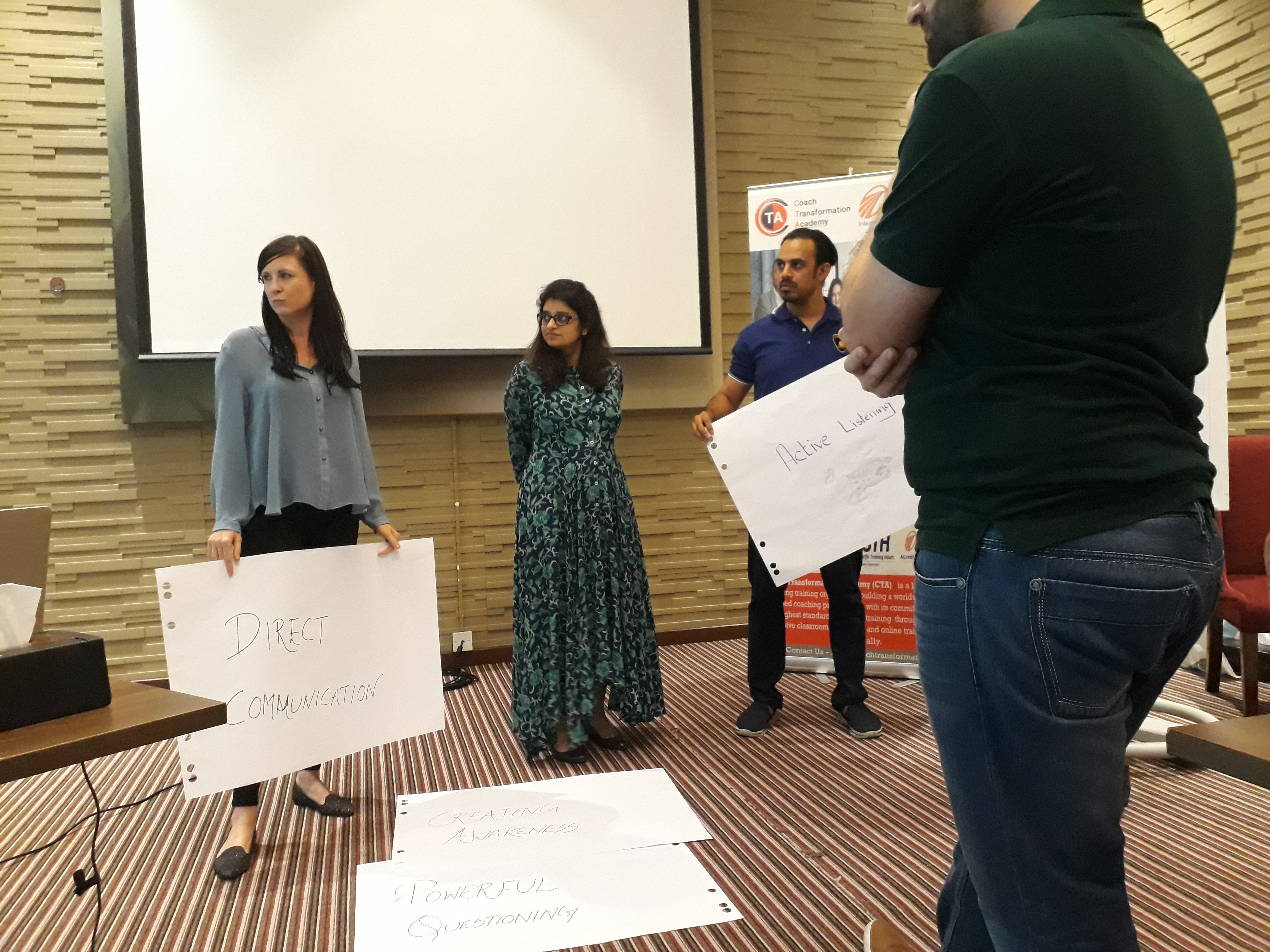 Coach Transformation Cohort May 2018 - Dubai
